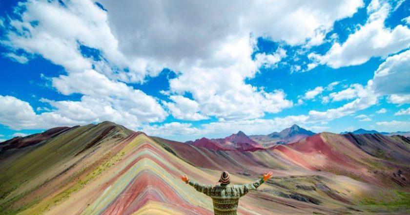 Montagna dei Sette Colori, Montagna Arcobaleno, ambiente