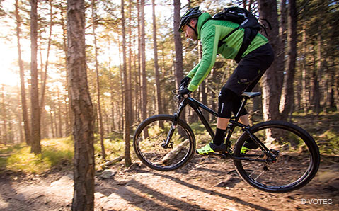 Photo of Stop alle mountain bike sulle Dolomiti