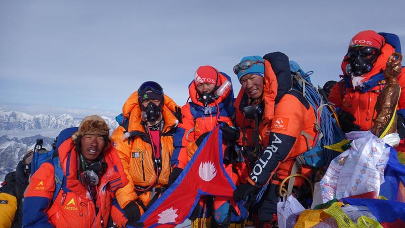 Everest, alpinismo, ottomila