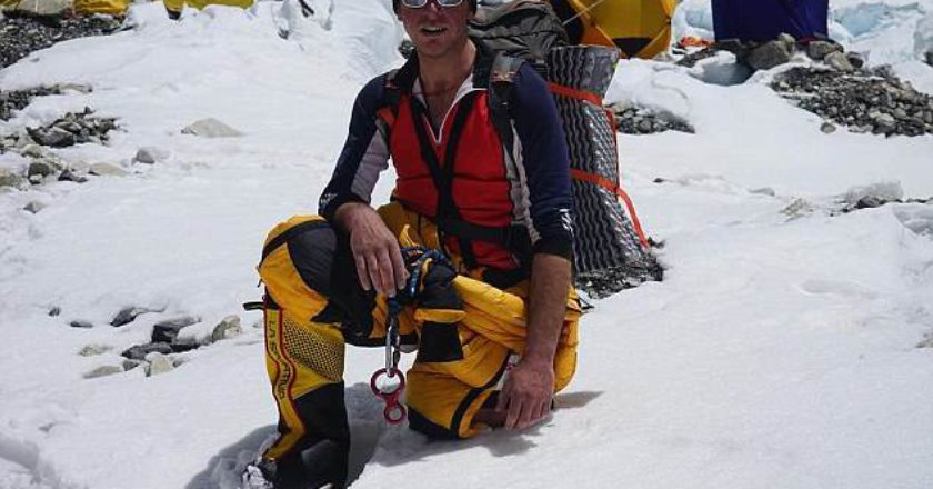 Everest, alpinismo, ottomila, Rupert Jones-Warner