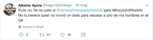 alpinismo, attualità, wielicki, premio princesa de asturia