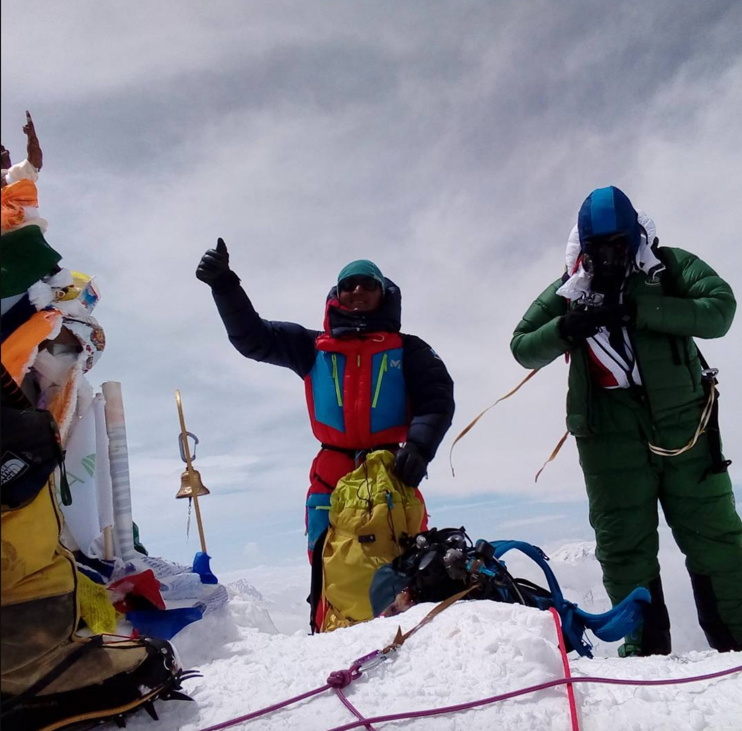 Photo of Traversata Everest-Lhotse, Tenji Sherpa ammette di aver usato l'ossigeno