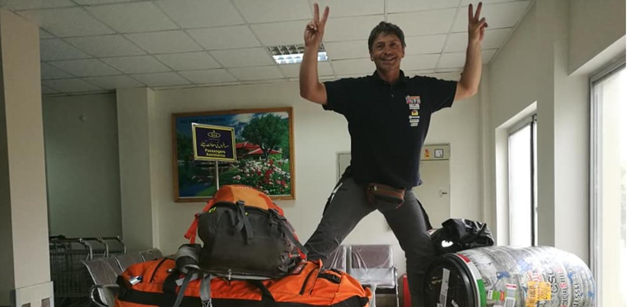 Photo of Mario Vielmo e Giampaolo Corona a Skardu: inizia la spedizione al GI
