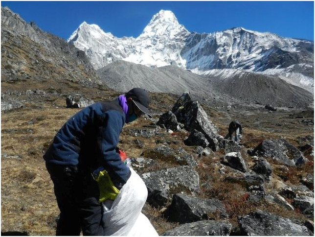 everest, alpinismo, rifiuti