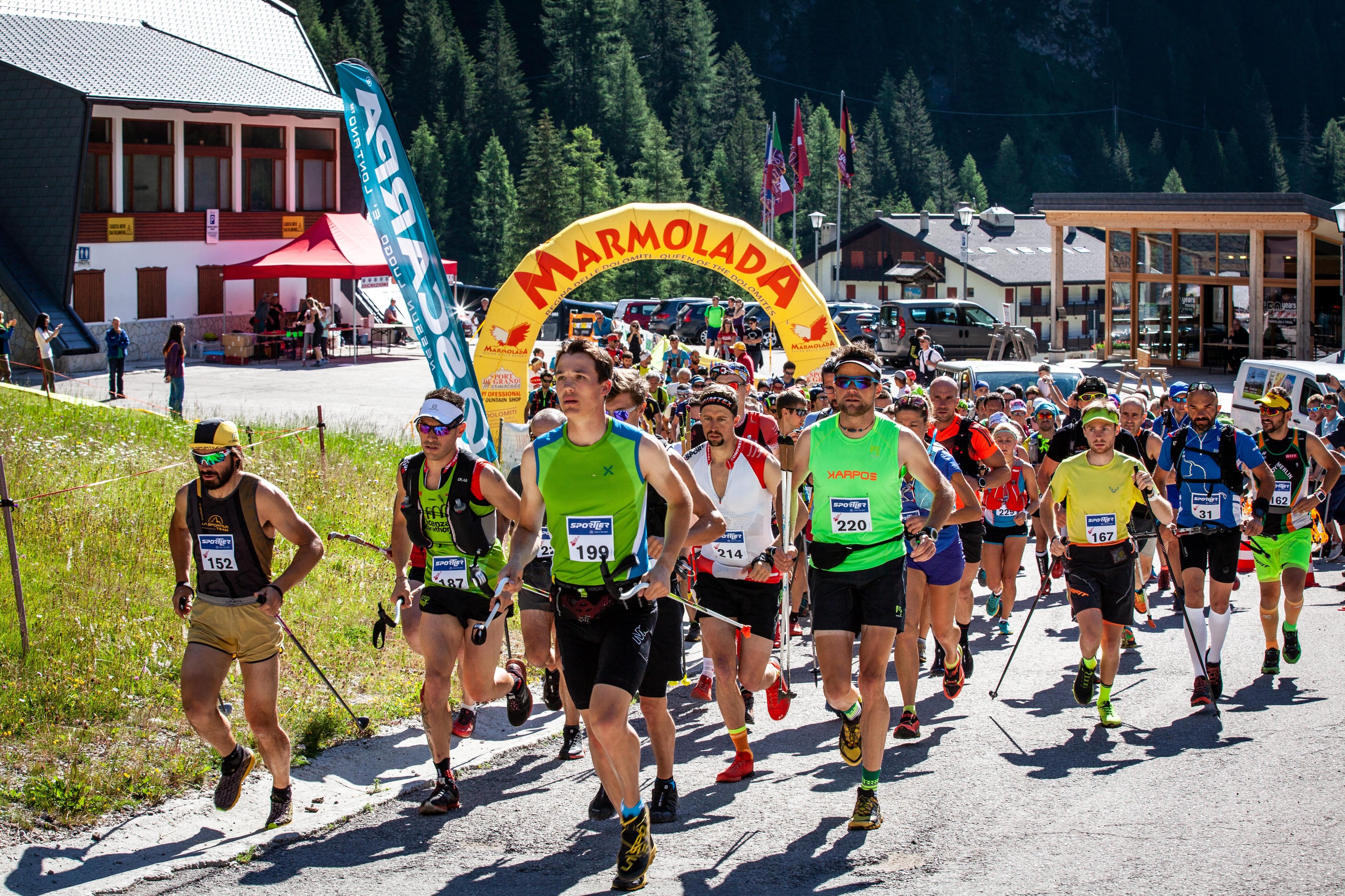 Photo of Marmolada Super Vertical: la corsa in montagna approda in Dolomiti