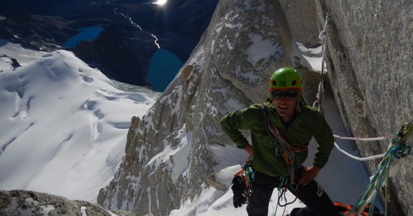 Francesco Salvaterra, guida alpina, storia