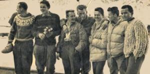 Reiner Kauschke, Cima Grande di Lavaredo, invernale, Cervino