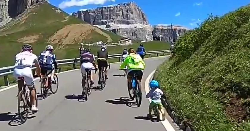 Passo Sella, Giro d'Italia, bike