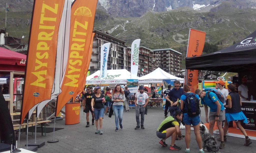 Montagne Outdoor Festival, Cervinia, Village