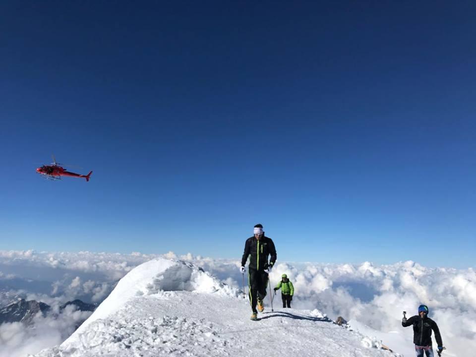 Photo of Marco De Gasperi, record sul Monte Rosa: l'etica della montagna la insegna chi non la deturpa, non chi va piano o veloce