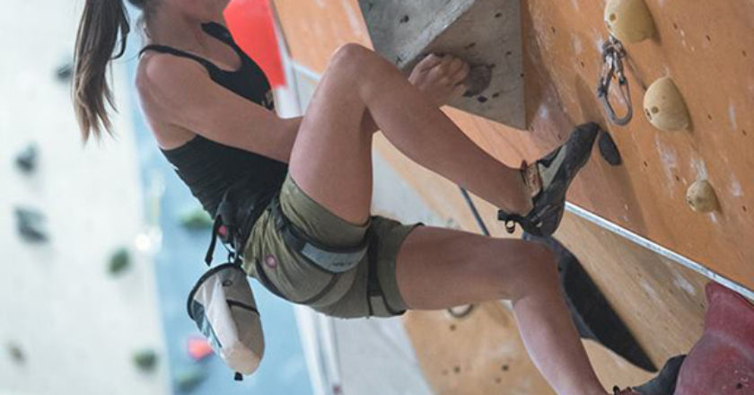Caterina Dal Zotto, arrampicata, outdoor
