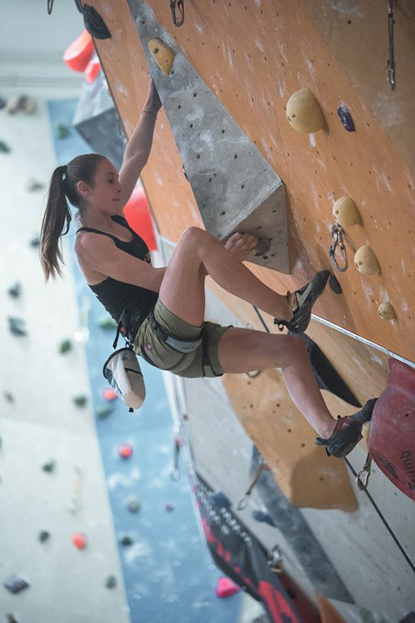 Caterina Dal Zotto, arrampicata, outdoor