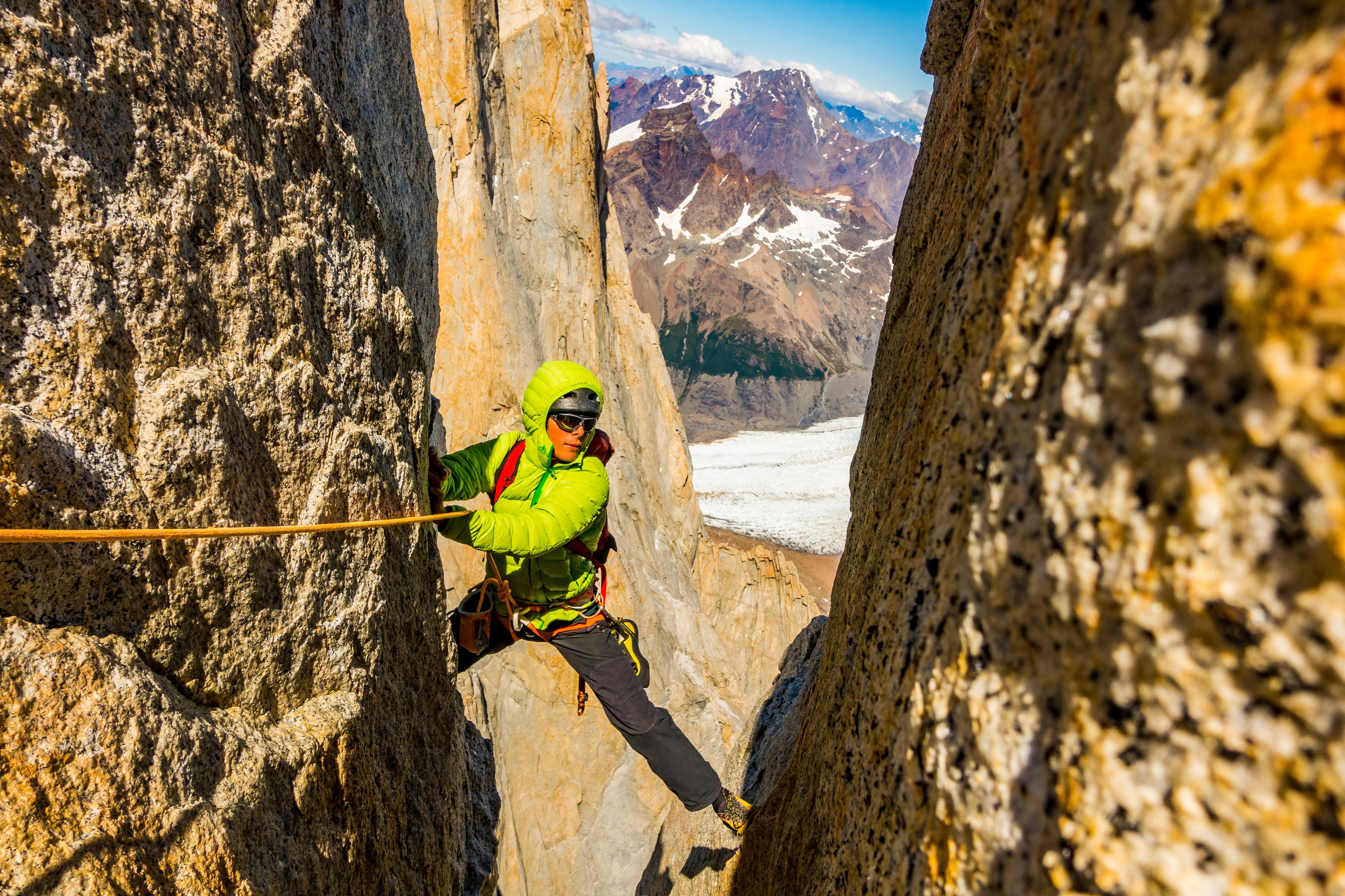 Photo of Fabian Buhl: l'arrampicata è solo illusione, ho bisogno di guardare oltre