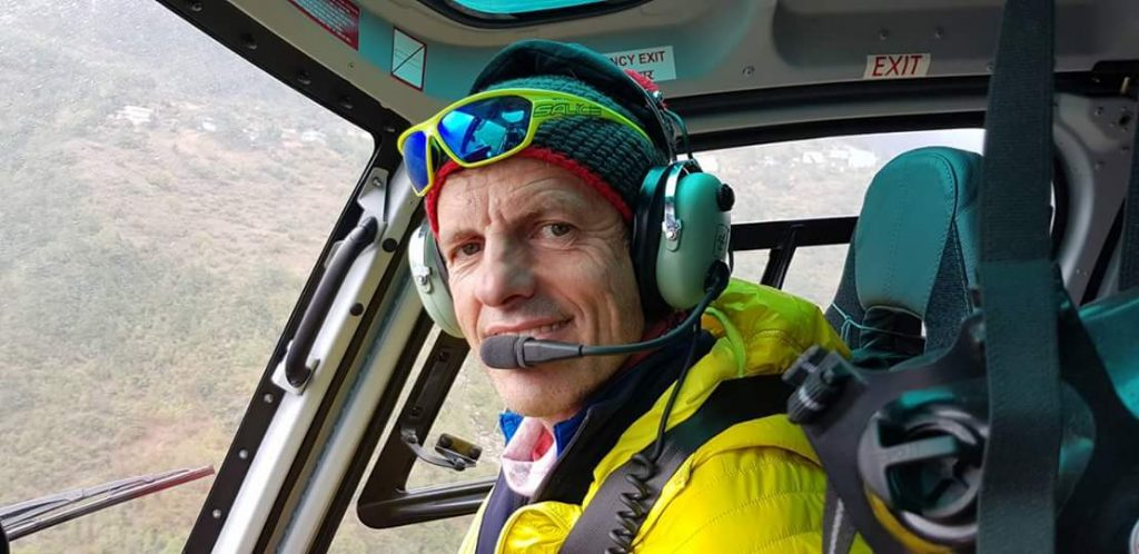Maurizio Folini, Nepal Soccorso, Elicotteri