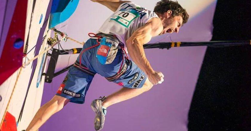 Stefano Ghisolfi, medaglia d'oro, Coppa del Mondo di arrampicata sportiva, lead, boulder, speed, Chamonix