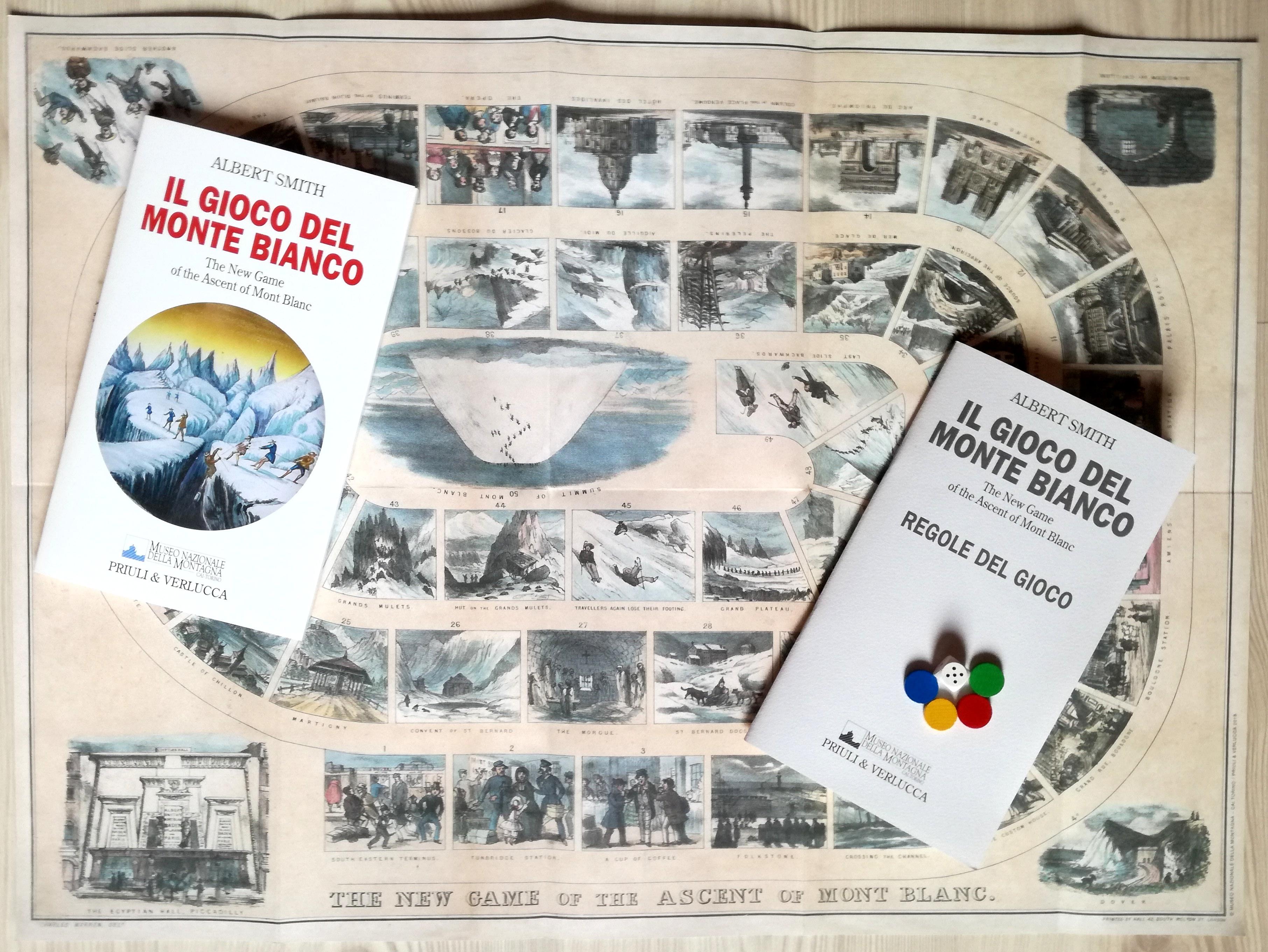 Museo Montagna, Albert Smith, Monte Bianco, gioco