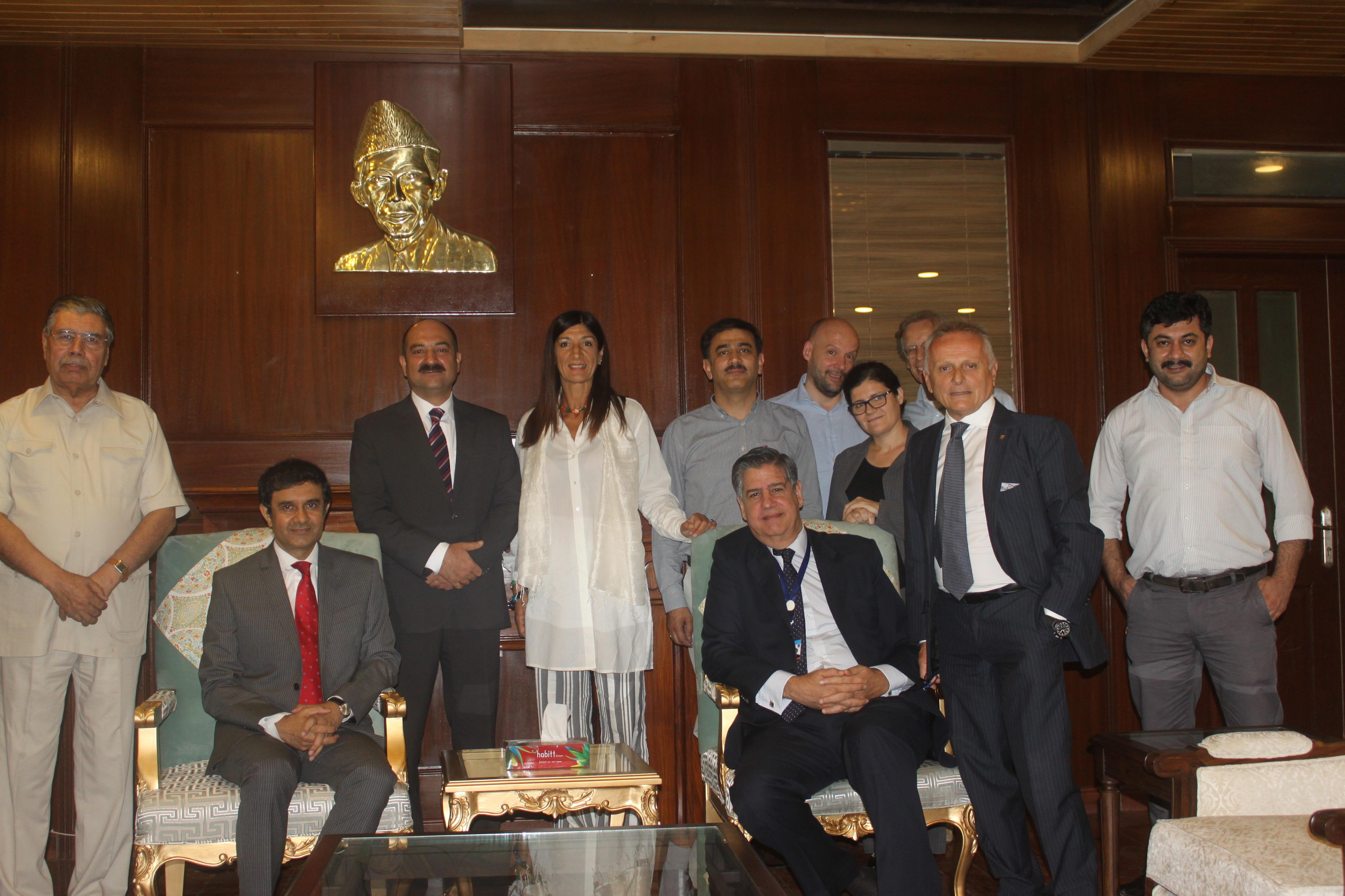 Photo of L'ambasciatore italiano Stefano Pontecorvo: il Governo italiano supporterà l'eco-turismo in Gilgit-Baltisan