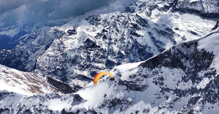 alpinismo, amiche enfio, parapendio, interviste