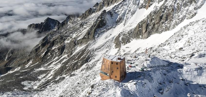 Photo of Inaugurato il nuovo rifugio al Sasso Nero, in Valle Aurina