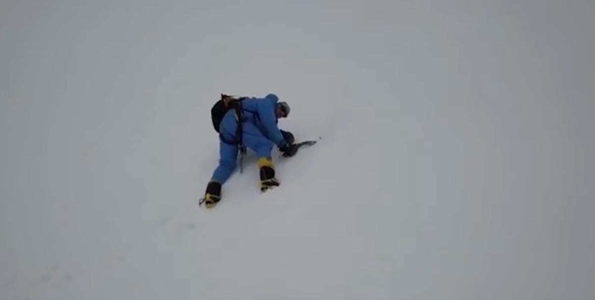 drone, rick allen, alpinismo, broad peak