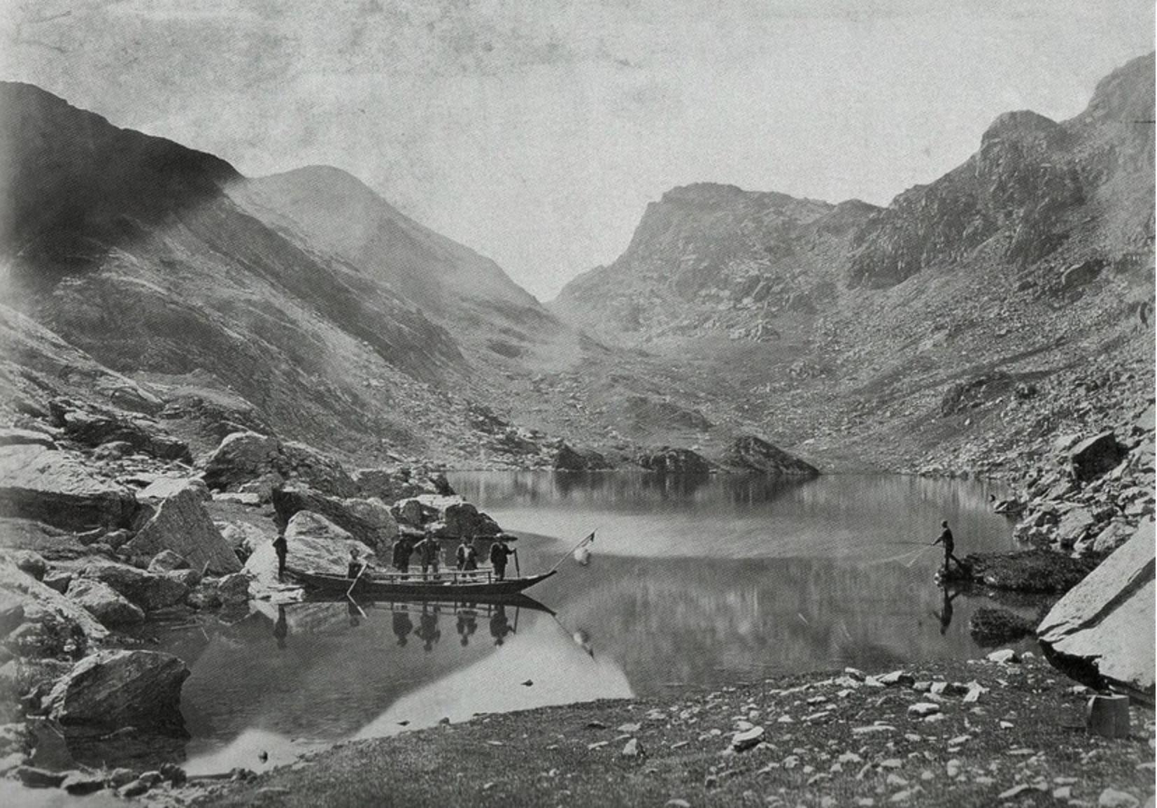 Lago Fiorenza, Crissolo, reperti