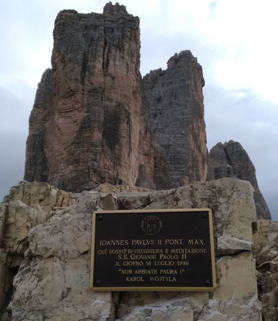 Photo of Le Tre Cime di Lavaredo chiamano Papa Francesco