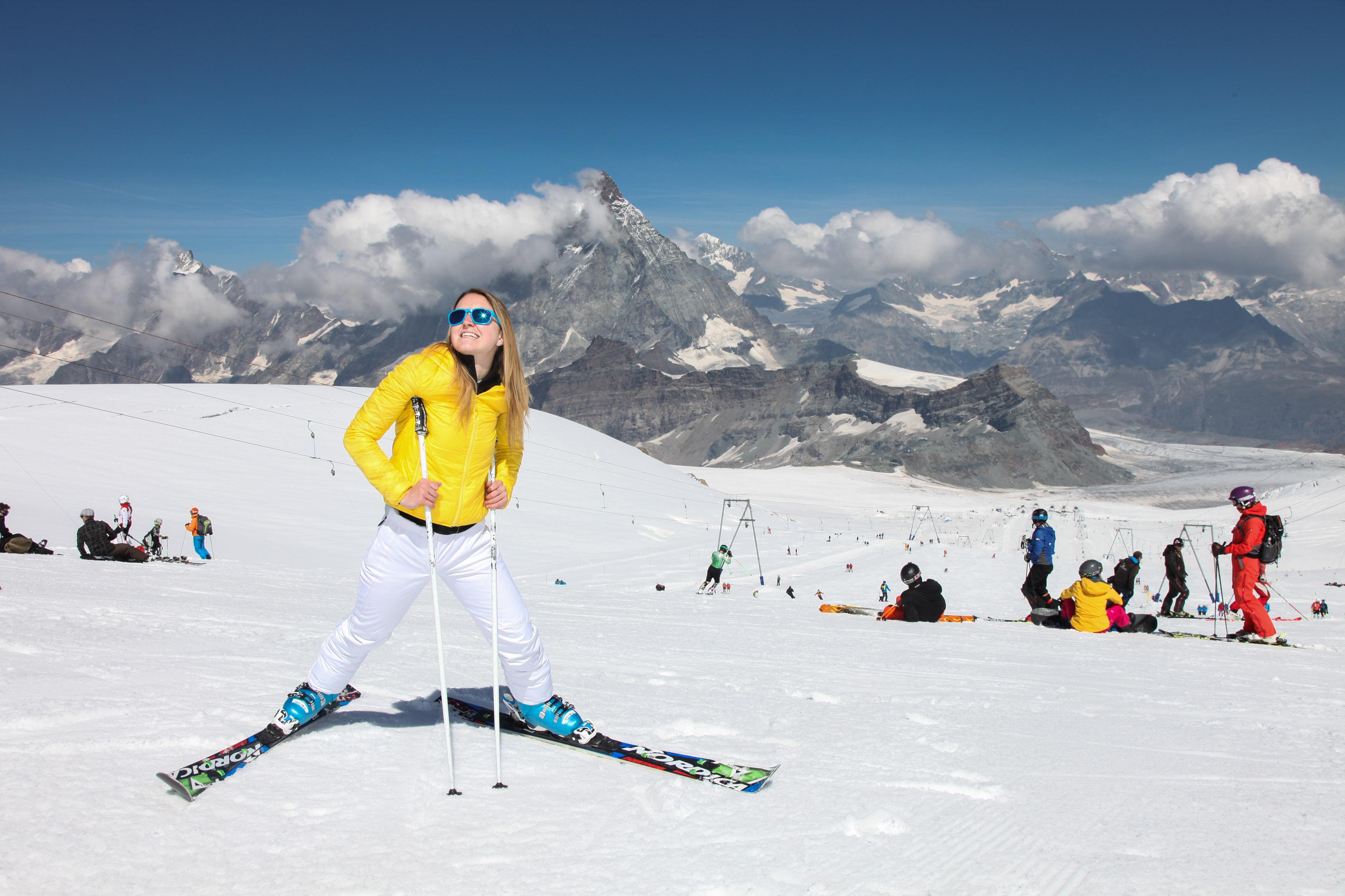 Photo of Outdoor Festival – Cervinia: lezioni di sci e snowboard… anche in Estate!
