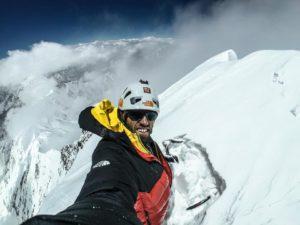Hansjörg Auer, Lupghar Sar West, Karakorum, alpinismo