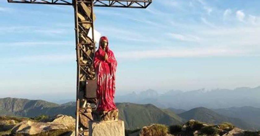 monte Cusna, Appennino Reggiano, vandalismo