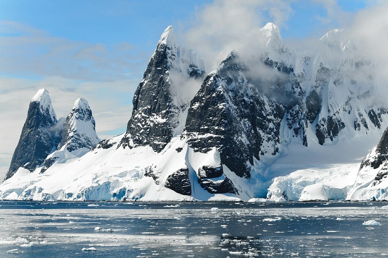 Antartico, record, ambiente