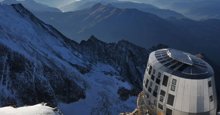 Monte Bianco, rifugio Goûter, Tête Rousse