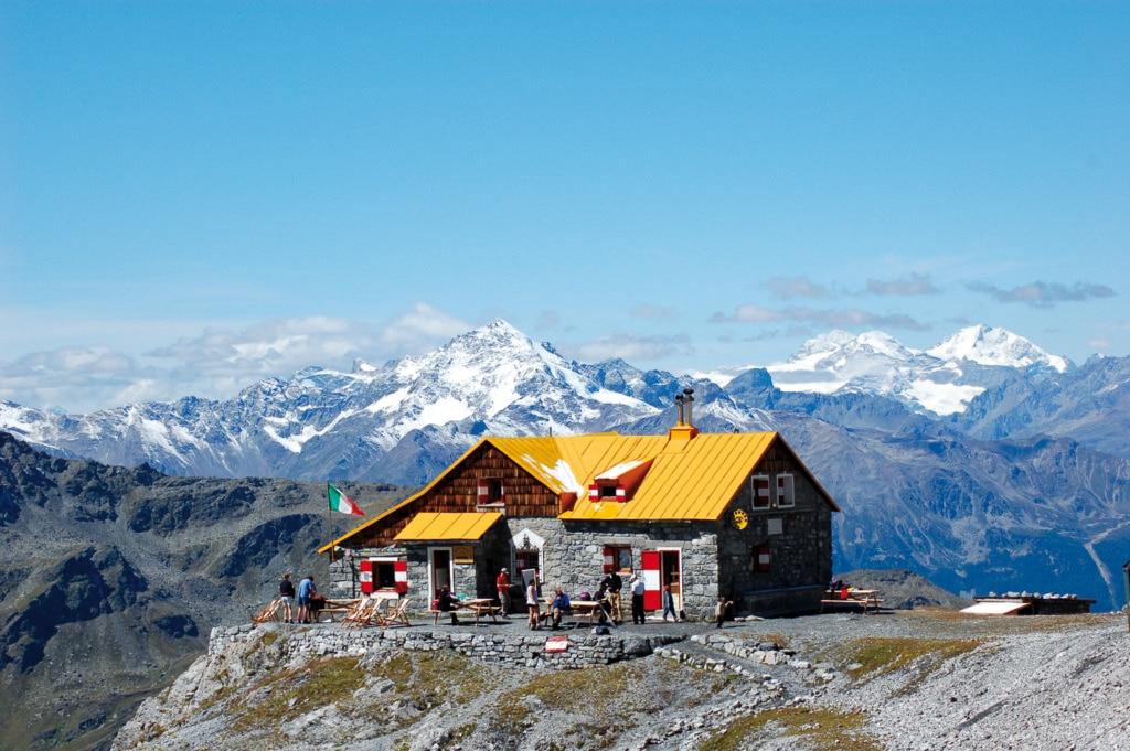 vetrina, rifugio, quinto alpini