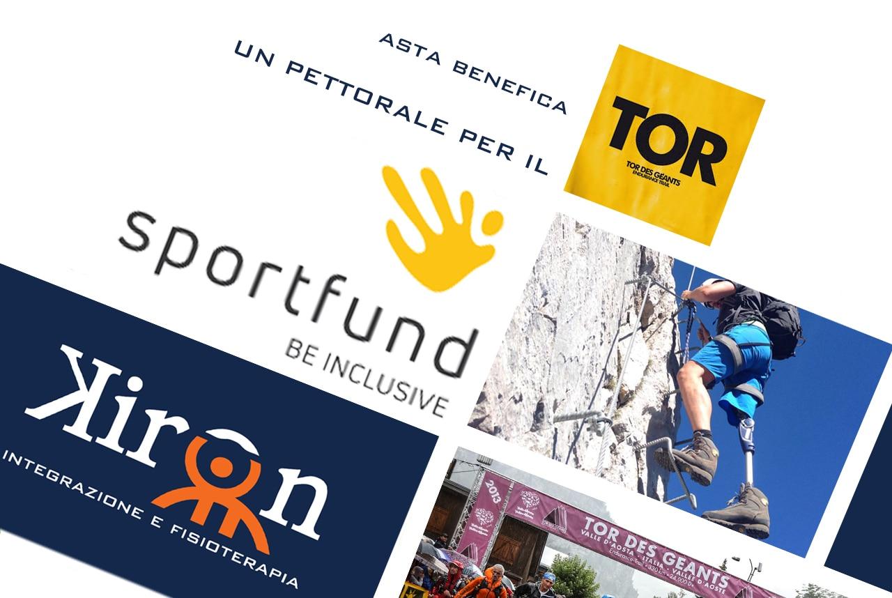 Photo of Partecipa all'asta benefica e aggiudicati uno dei due pettorali per il Tor Des Gèants