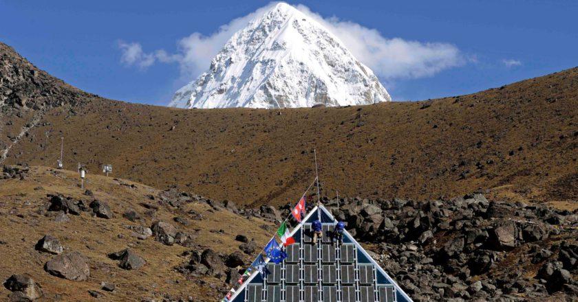 Laboratorio Piramide, Giampietro Verza, CNR, Everest, ricerca