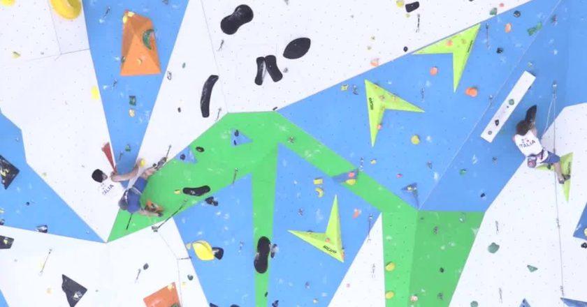 fasi, coni, arrampicata sportiva
