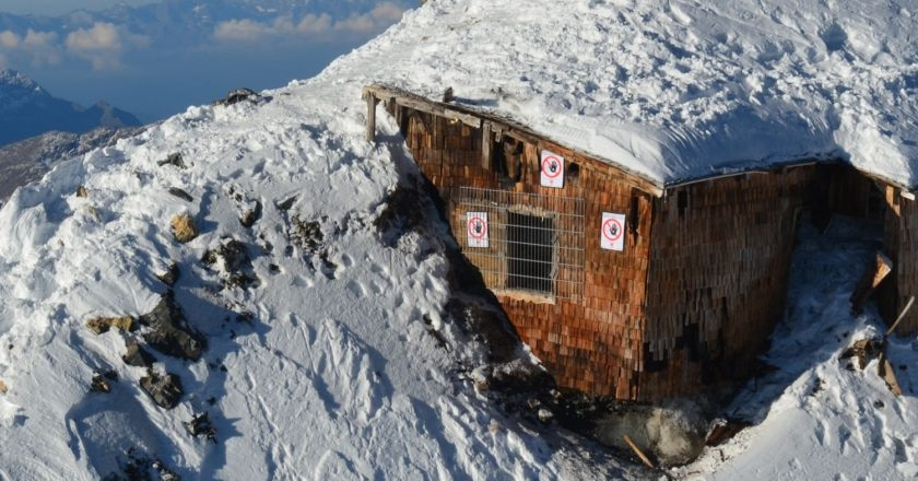 Ortles, Dolomiti, Grande Guerra, Prima Guerra Mondiale, reperti storici