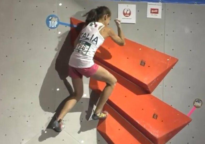 Photo of Mondiali arrampicata sportiva: è oro per i giovani Laura Rogora e Gian Luca Zodda
