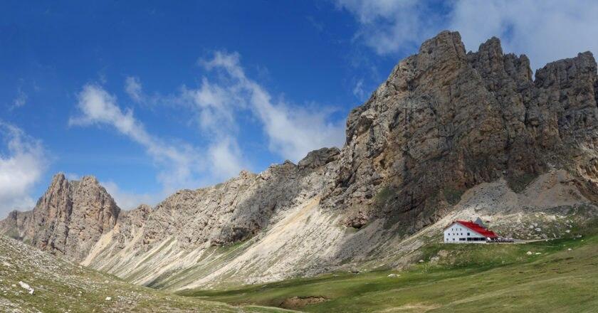 edicola, guide, itinerari, Meridiani Montagne, Catinaccio, Sciliar, Sassolungo
