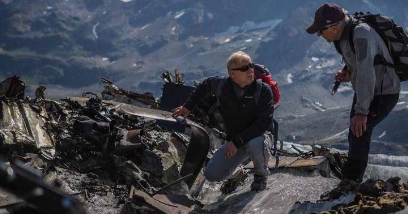 Alpi Bernesi, ghiacciaio del Gauli, soccorso alpino