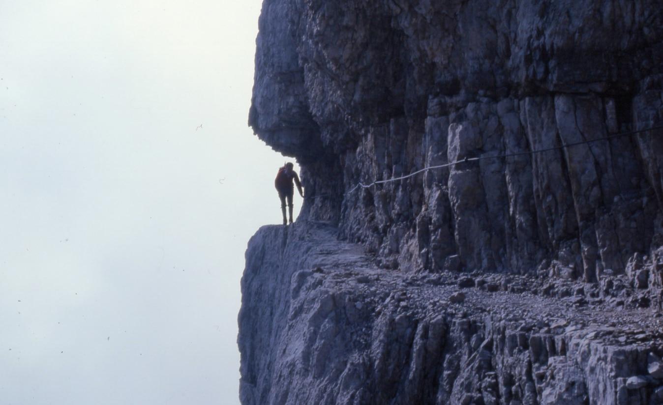 Photo of Situazione di pericolo alla Vedretta degli Sfulmini a causa di un crollo lungo le Bocchette Centrali