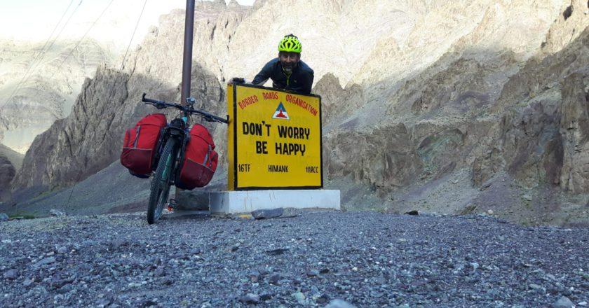 Manali-Leh, route 66, Mirco Robaldo, India, bici, Ladakh