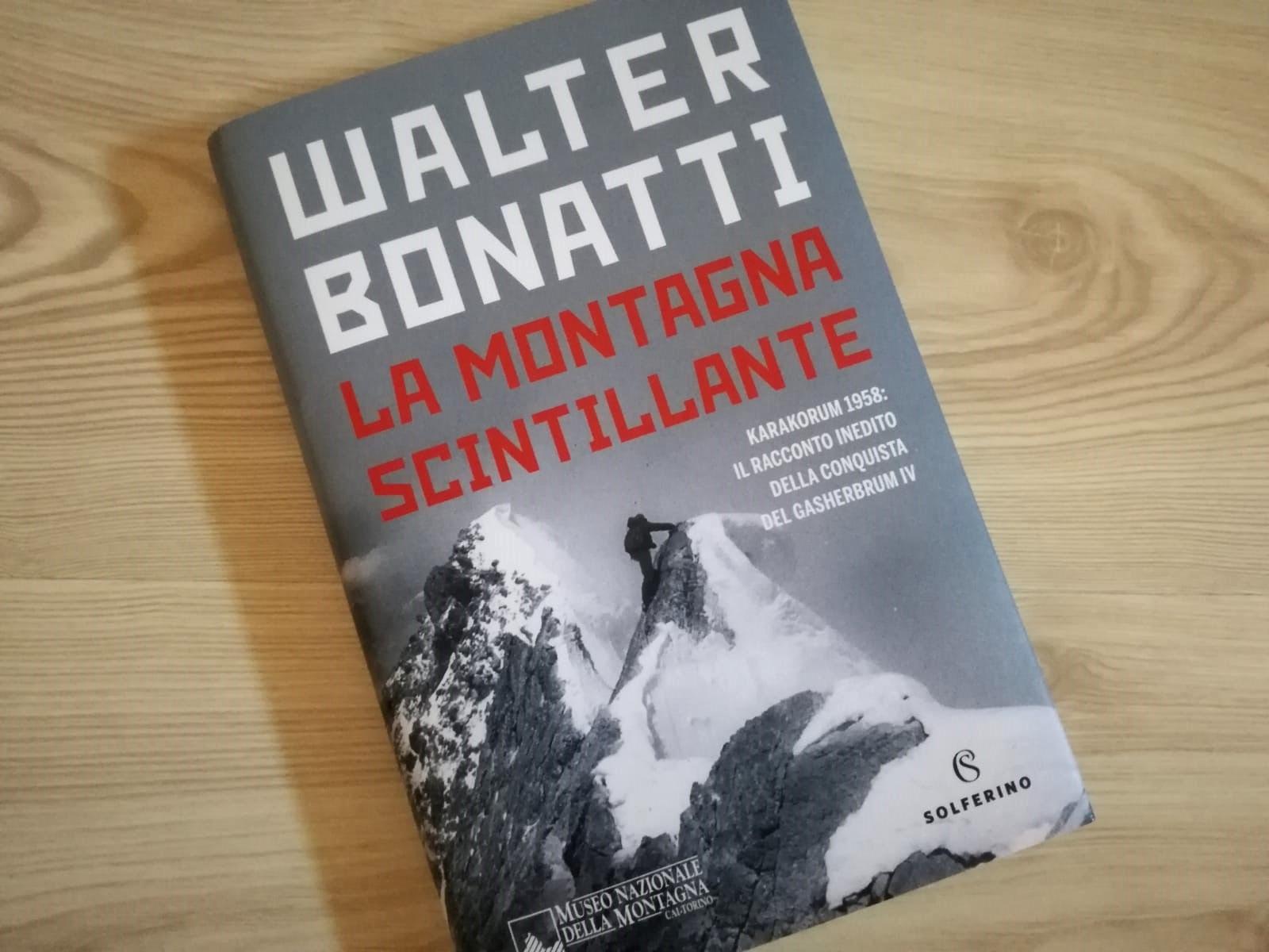 Walter Bonatti, Gasherbrum IV, la montagna scintillante, Solferino, libri