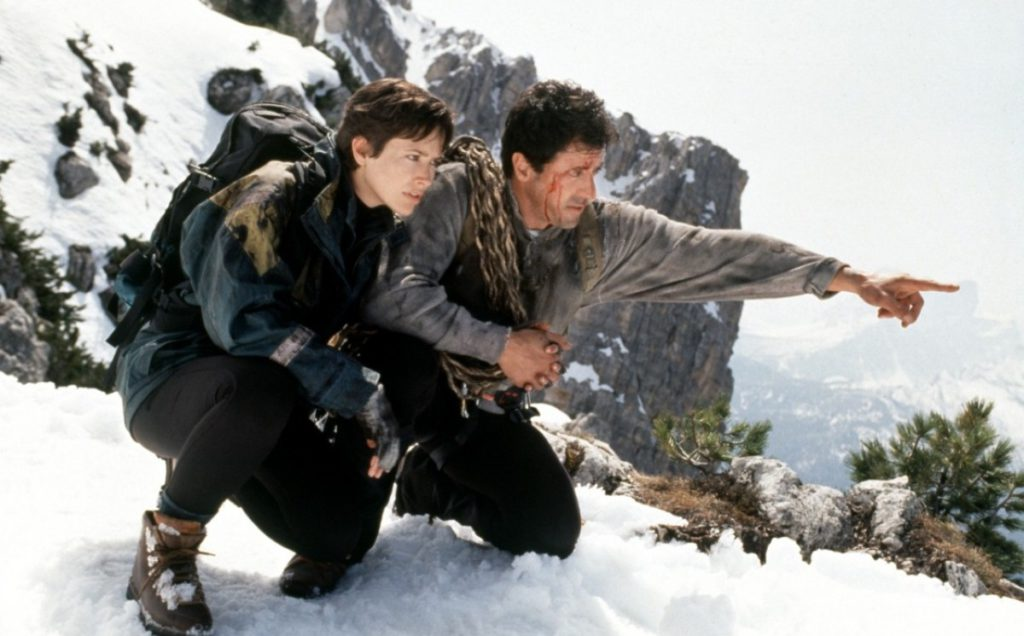 Cliffhanger, Silvester Stallone, televisione, film