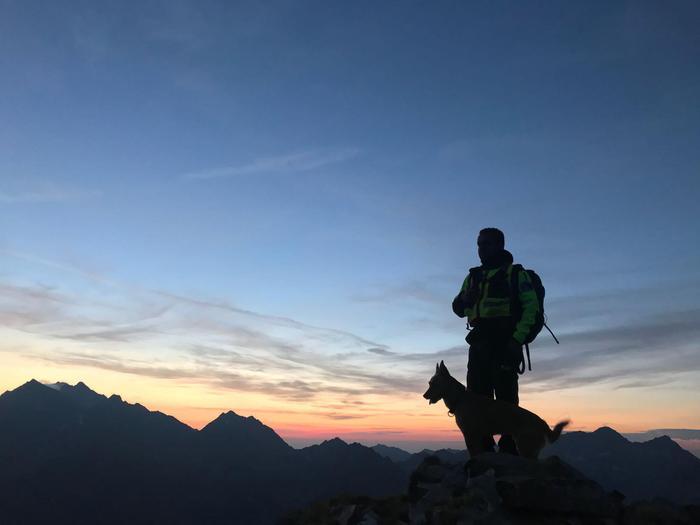 Valle d'Aosta, Soccorso Alpino, ricerche, falso allarme