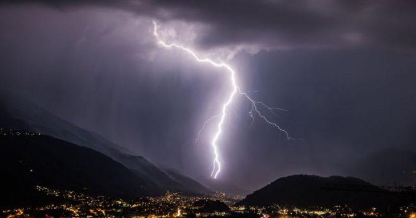 CNSAS, temporali, fulmini