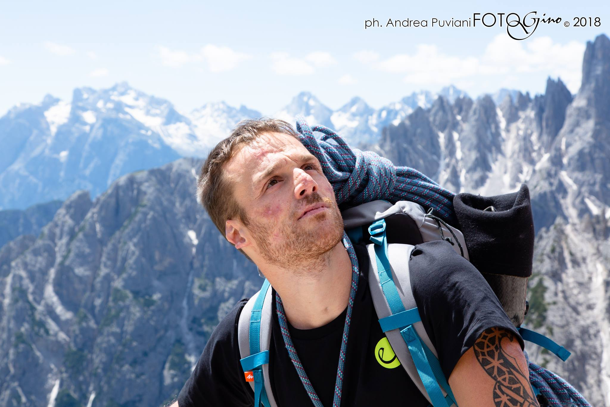 Andrea Lanfri, meningite, arrampicata