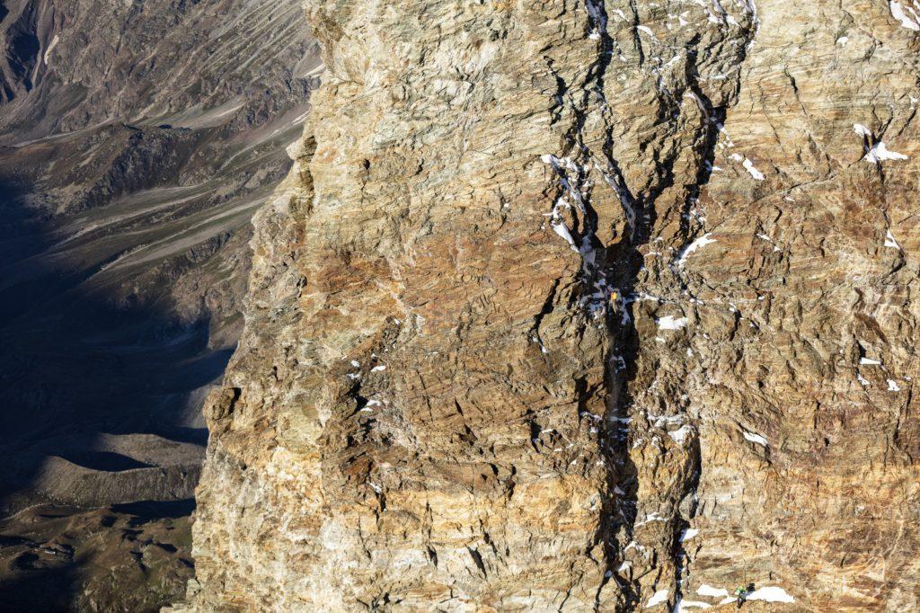 Andreas Steind, François Cazzanelli, Cervino, alpinismo, record, concatenamento