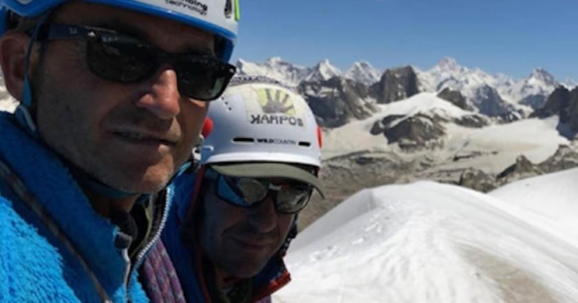 Kiris Peak, Water World, Maurizio Giordani, Massimo Faletti, Pakistan