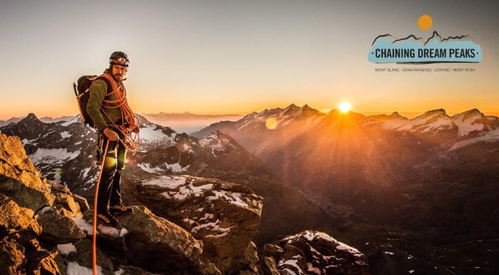 alpinismo, Monte Bianco, Grand Paradiso, Cervino, Monte Rosa, Genís Zapater