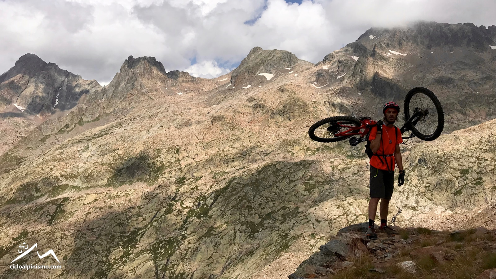 Photo of Cicloalpinismo: Cima Ghiliè, un sogno alto 2.998 metri